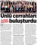 Hacettepe Üniversitesi Ünlü Cerrahları Buluşturdu